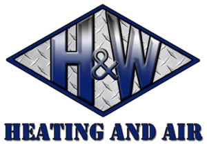 H & W Heating and Air, LLC Logo